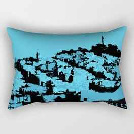 Telegraph Hill Print Rectangular Pillow