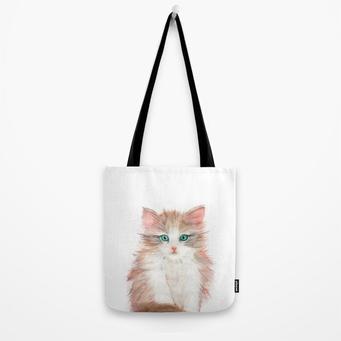 Little Kitten Tote Bag