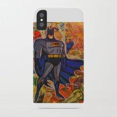 The Bat Man iPhone X Slim Case