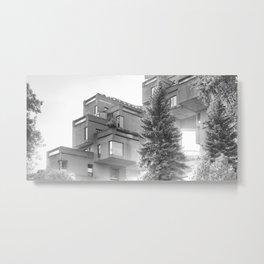 Habitat 67 05 - Mid Century Architecture Metal Print