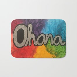 Ohana Rainbow Bath Mat