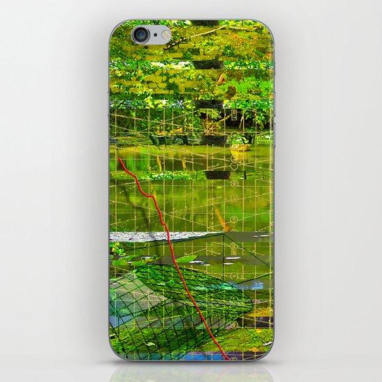 Landscape of My Heart (segment 3) iPhone & iPod Skin