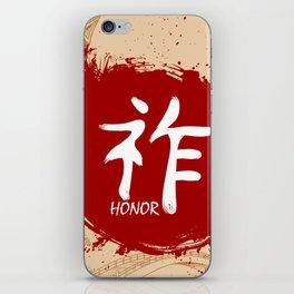 Japanese kanji - Honor iPhone Skin