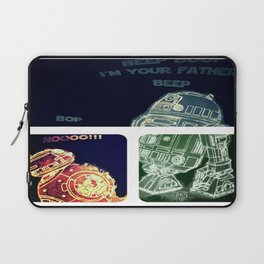 R2D2 AND BB8 FORCE COLORS Laptop Sleeve