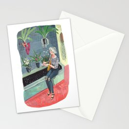 Joan at the Brooklyn Botanic Gardens Stationery Cards