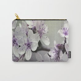 Misty Flowers Carry-All Pouch