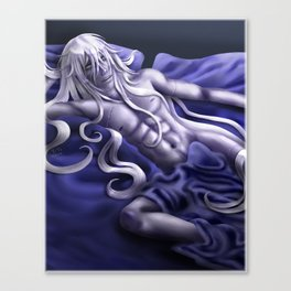 Undertaker in Blue Canvas Print