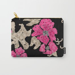 Pointillism. Flowers Carry-All Pouch