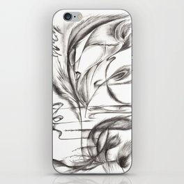 Feather Lover iPhone Skin