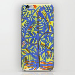 neon botanical iPhone Skin