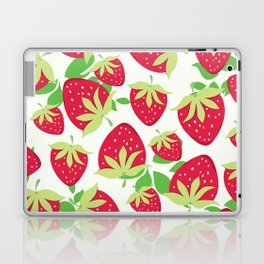 Sweet strawberries pattern Laptop & iPad Skin
