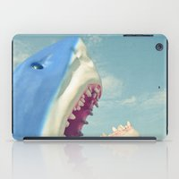 shark iPad Cases featuring Shark! by Cassia Beck