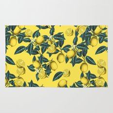 Lemon and Leaf Pattern III Rug