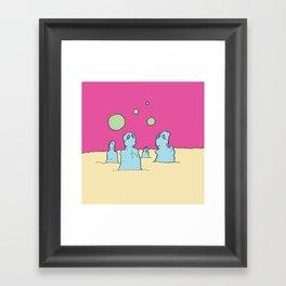 Where Are We Now? Framed Art Print