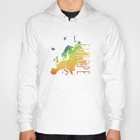 europe Hoodies featuring Europe by Stephanie Wittenburg