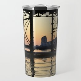 Hastings pier afterglow Travel Mug