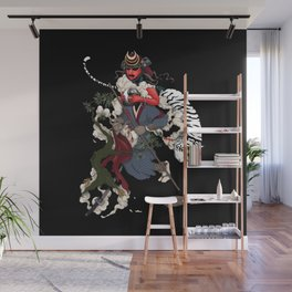 Samurai Wall Mural