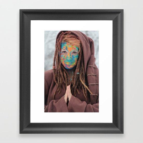 One of the Rainbow Warriors  Framed Art Print