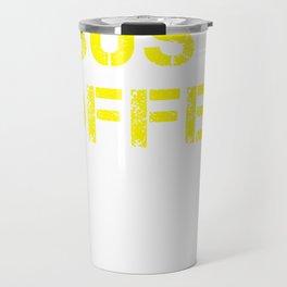 Jesus, Coffee & Burritos Travel Mug