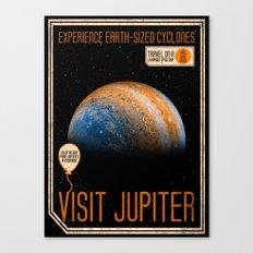 Visit Jupiter Canvas Print