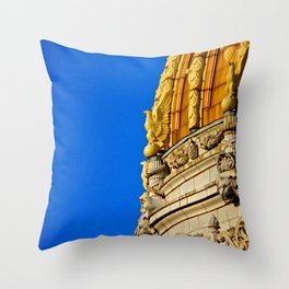 Westmoreland County Courthouse Dome Throw Pillow