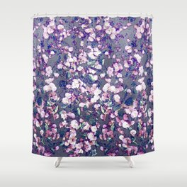 Daisy Fizzy  Shower Curtain