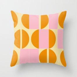 Sunny Tiles 01 Throw Pillow