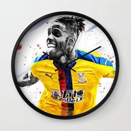 Zaha Football Print Football Wall Art Football Poster Football Wall Decor Poster Wall Clock