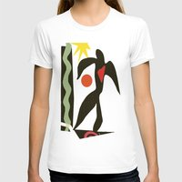 matisse T-shirts featuring Inspired to Matisse (vintage) by Chicca Besso
