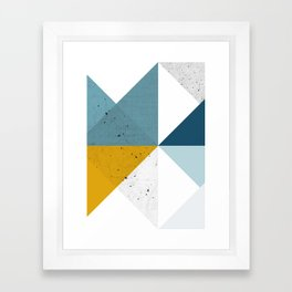 Modern Geometric 17 Framed Art Print