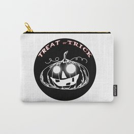 Pumpkin:Treat or Trick Carry-All Pouch