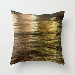 Night Light 137 - Water Throw Pillow