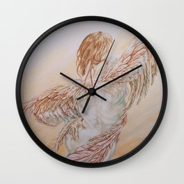 Odyssey Integral - [Angel Related Art] ~ By Jo-Ellen Wall Clock