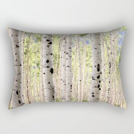 Dreamy Aspen Grove Rectangular Pillow