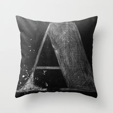 A Wood Throw Pillow