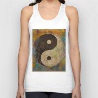 yin yang Tank Tops featuring Yin Yang by Michael Creese