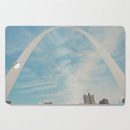 the gateway to the west ... Cutting Board
