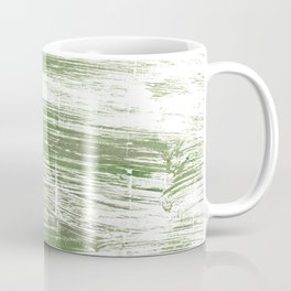 Green stripes Coffee Mug