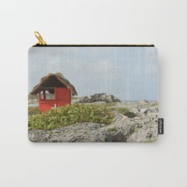 Medica Mexico Medical Shack First Aid Nurse Doctor Island Vacation Travel Beach Isla Landscape Carry-All Pouch