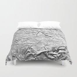 Aluminum Foil Duvet Cover