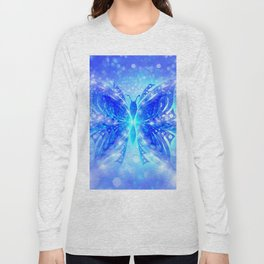 Butterfly Abstract G539 Long Sleeve T-shirt