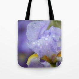 Iris After Rain Tote Bag