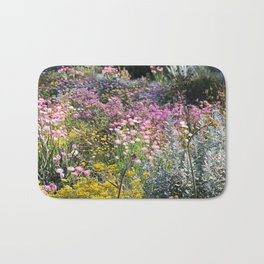 Wildflowers by Day Bath Mat