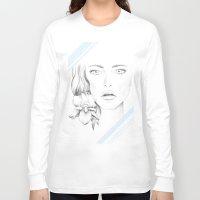 wonder Long Sleeve T-shirts featuring Wonder by Barlena