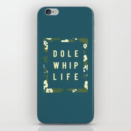 Dole Whip (small green) iPhone Skin