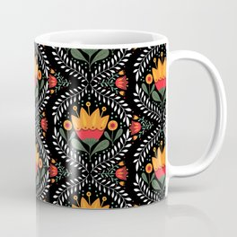 FOLK FLORA Coffee Mug