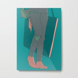 Art Student Metal Print