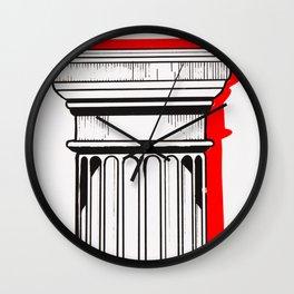 Column I Wall Clock