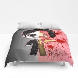 Dark Warfstache Comforters