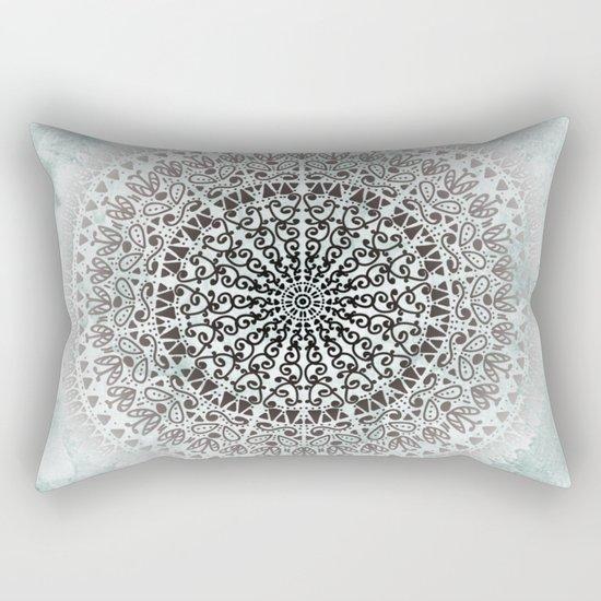ICELAND MANDALA Rectangular Pillow